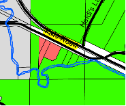 Map of proposed area